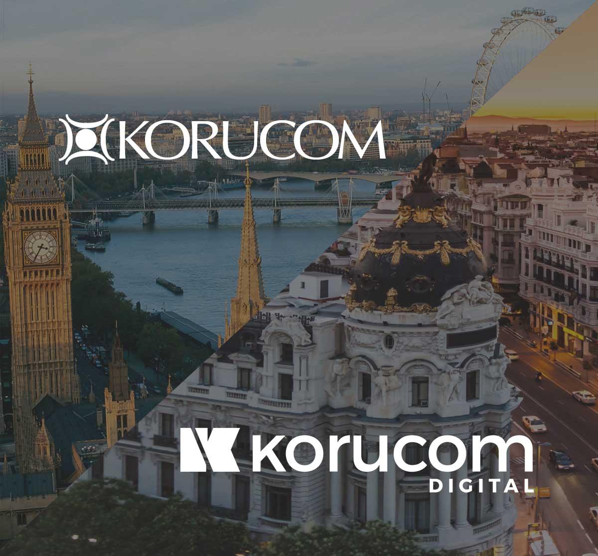 Logo Korucom Digital Agencia Marketing Online Madrid